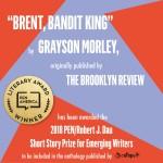 2018 PEN/Robert J. Dau Short Story Prize for Emerging Writers